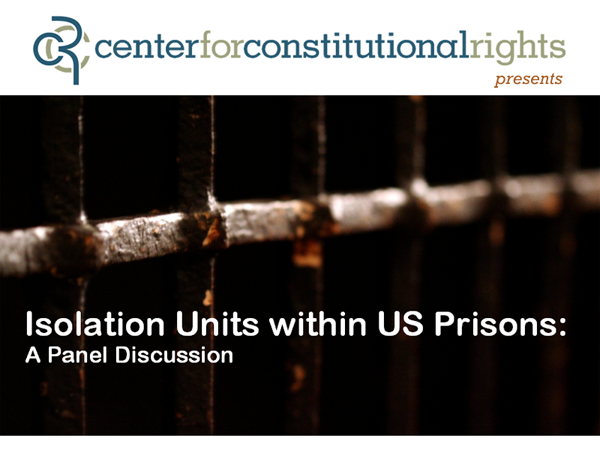 Isolation Units within US Prisons