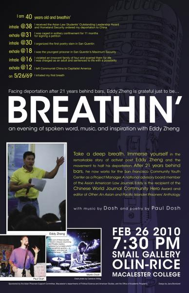 Breathin' Event Poster