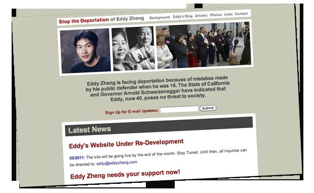 Snapshot of EddyZheng.com (v1)