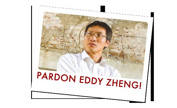 Pardon Eddy Zheng!